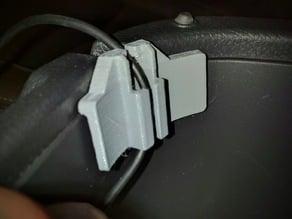 Nissan Navara cable holder