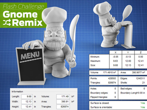 MakerBot Gnome Chef