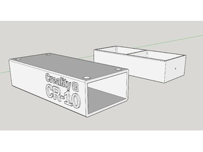 Creality CR-10 Control Box Stand