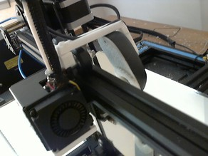CR-10 Extruder/Nozzle camera mount.