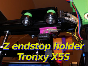 Z Endstop Holder - x5s and other printers