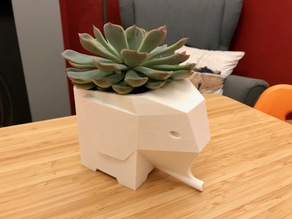 Elephant Planter (Plant Pot)