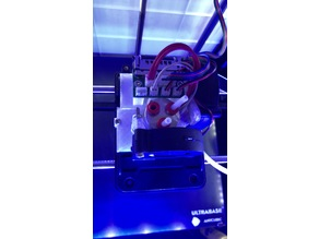 Anycubic 4Max Pro 3 in 1 out mount for THC-01