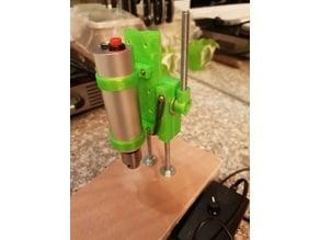 Mini Drill Press for PCB Drill - 30mm brackets & shaft