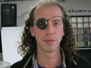 Talk Like a Pirate Day Eyepatch