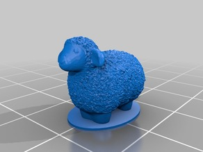 Small Sheep with Base (For MO)