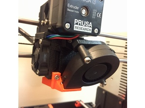 Prusa MK3 Nozzle Fan Holder R3 Revision
