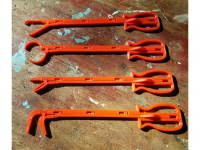 Extended Pliers / tweezers Set