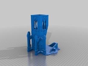 (3D Slash) 40K_Terrrain_diceTower-_Bottom