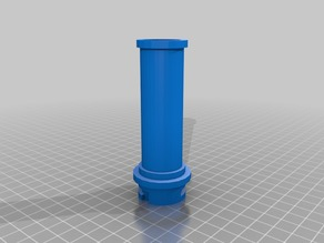 Ender 3 Pro Small Spool Mount Axis (reel hole 29mm or bigger)