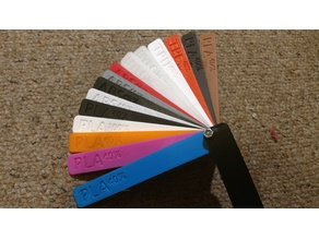 3D Printing Sample Swatches