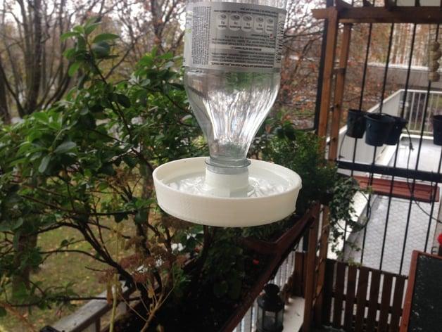 Abreuvoir pour oiseaux sur bouteille - Soda Clean water