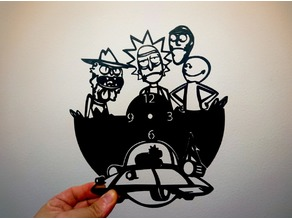 Reloj Rick y Morty