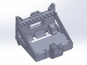 Geeetech MK8 dual extruder plate for my Quick Fit Carriage