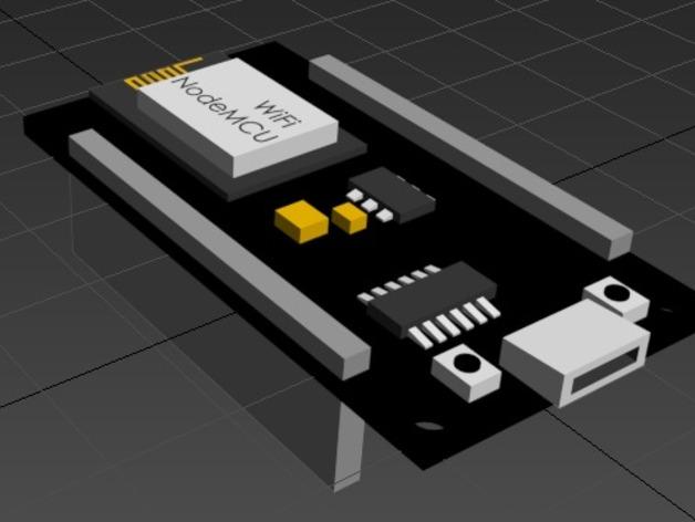 NodeMCU DEVKIT 1 0 ESP8266 by simiboy - Thingiverse