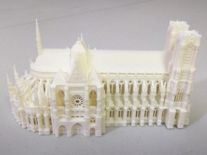 Reims Cathedral Half Size