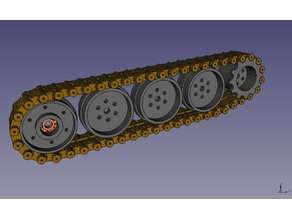 Raupenantrieb / Caterpillar drive
