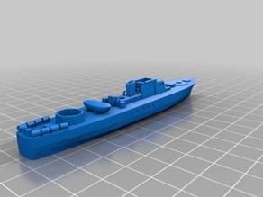 Fairmile B sub-chaser (1/300 scale)