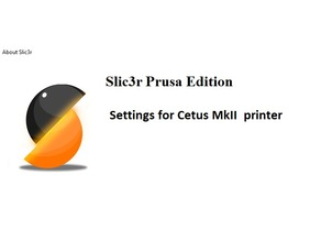 Prusa Slic3r config for TierTime Cetus mkII