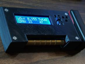 NetIO GC10 Geiger Counter Case
