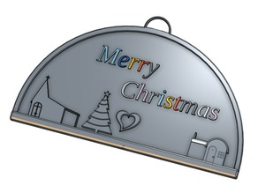 Christmas Ornament - Small Village