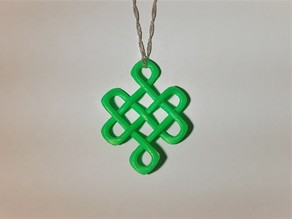 Celtic Knot of Longevity Pendant