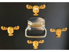 Moose Fridge Magnet