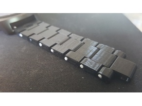 Thin watch band