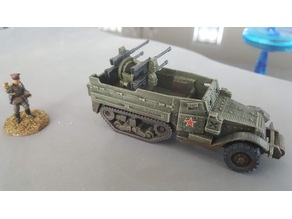 M16 / M17 Motor Gun Carriage Half Track 28mm