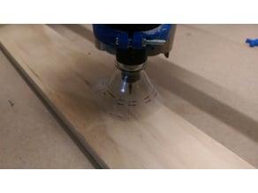 MPCNC Spindle Sawdust Shroud