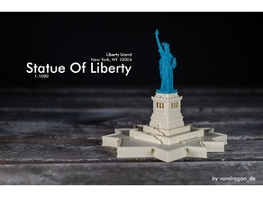 Statue Of Liberty / 1:1000 / 1:700