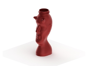 Creepy Devil Head Bottle