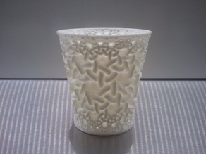 Weekly Cup 44... Escher, but hardly recongizable...