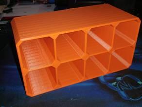 Scifi Small Part Storage Crates 8x Small