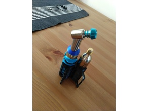 CO2 canister holder for bike, 34.9mm seat post
