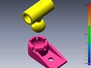 80/20 Laser module holder