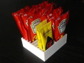 Ketchup organizer