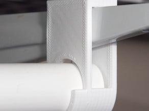 Closet shelf bracket PVC Hanger