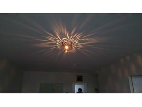 ceiling lamp / light pattern