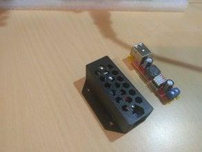 LM2596 dual usb module box