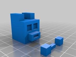 lego minecraft wolf