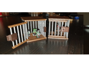 Opening Cage Miniature (S3D Fix + Variations)
