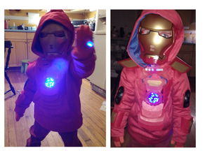 Boys size 5 Ironman Costume