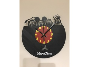 Disney Heroes Wall Clock