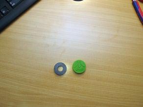 Kappen für Magnete