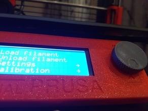 Control panel knob for my Prusa i3 MK2s