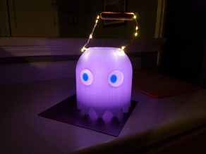 Pac-Man Ghost (Candy Basket)