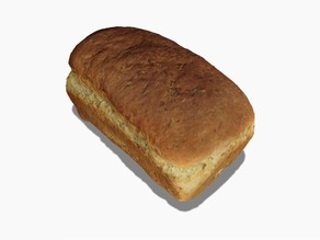 Loaf of Bread - 3D Scanned with 123D Catch