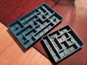 Tetris-shaped mold