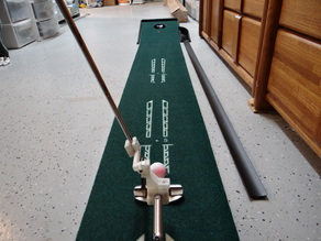 Golf Putter Laser Sighting Mount